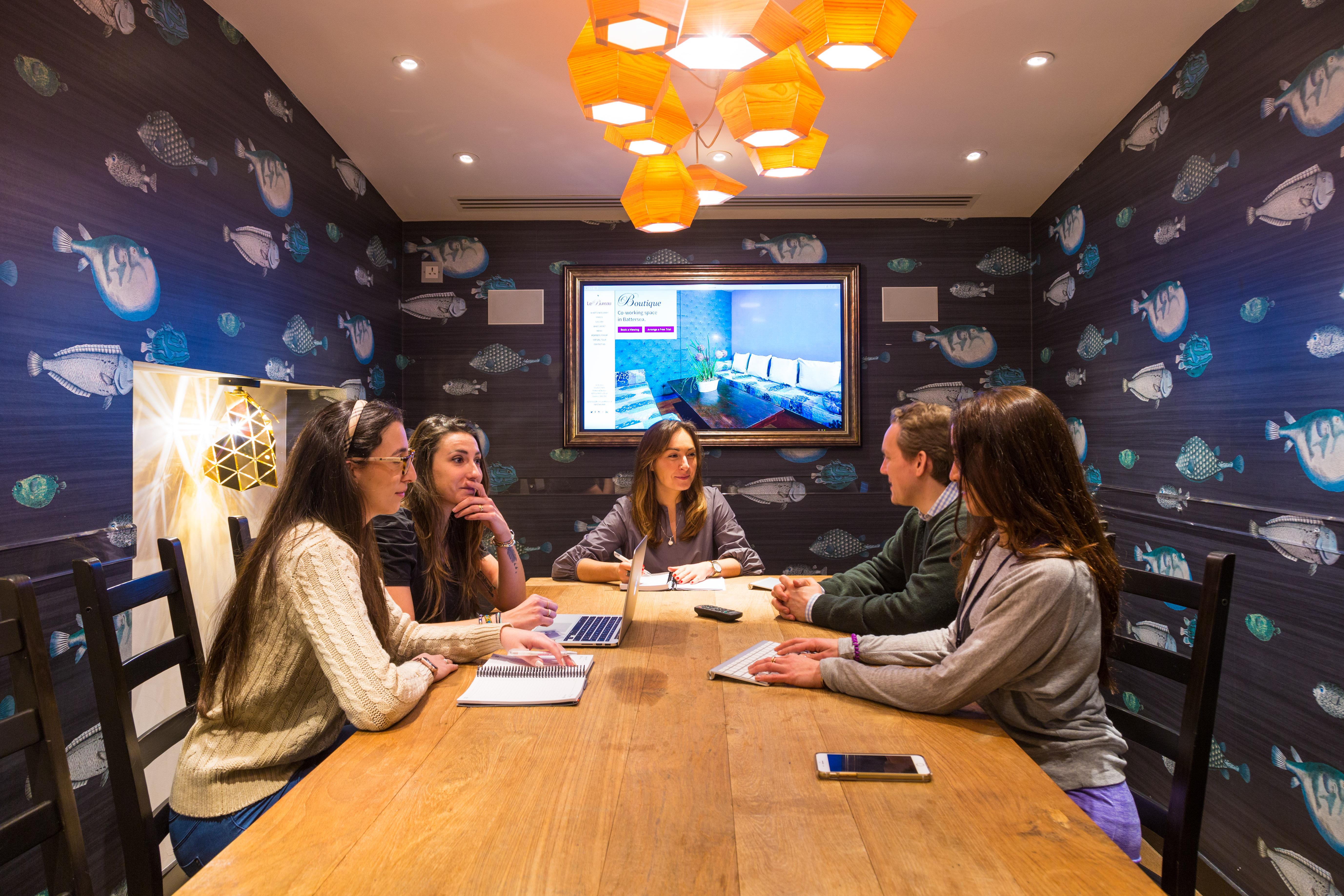 Rent an office or desk in le bureau battersea studios hubble