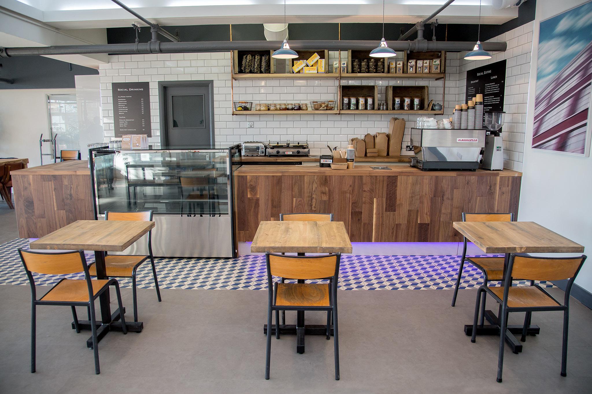 kitchen/breakout space