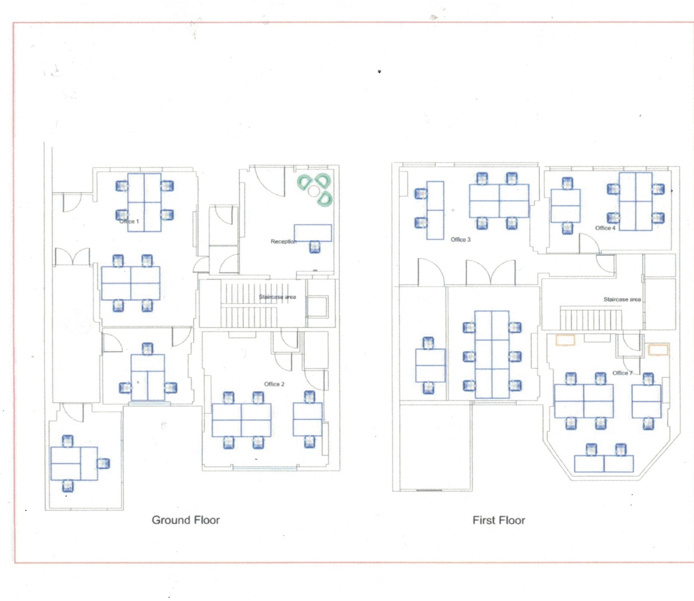 Russell Square Floor Plans