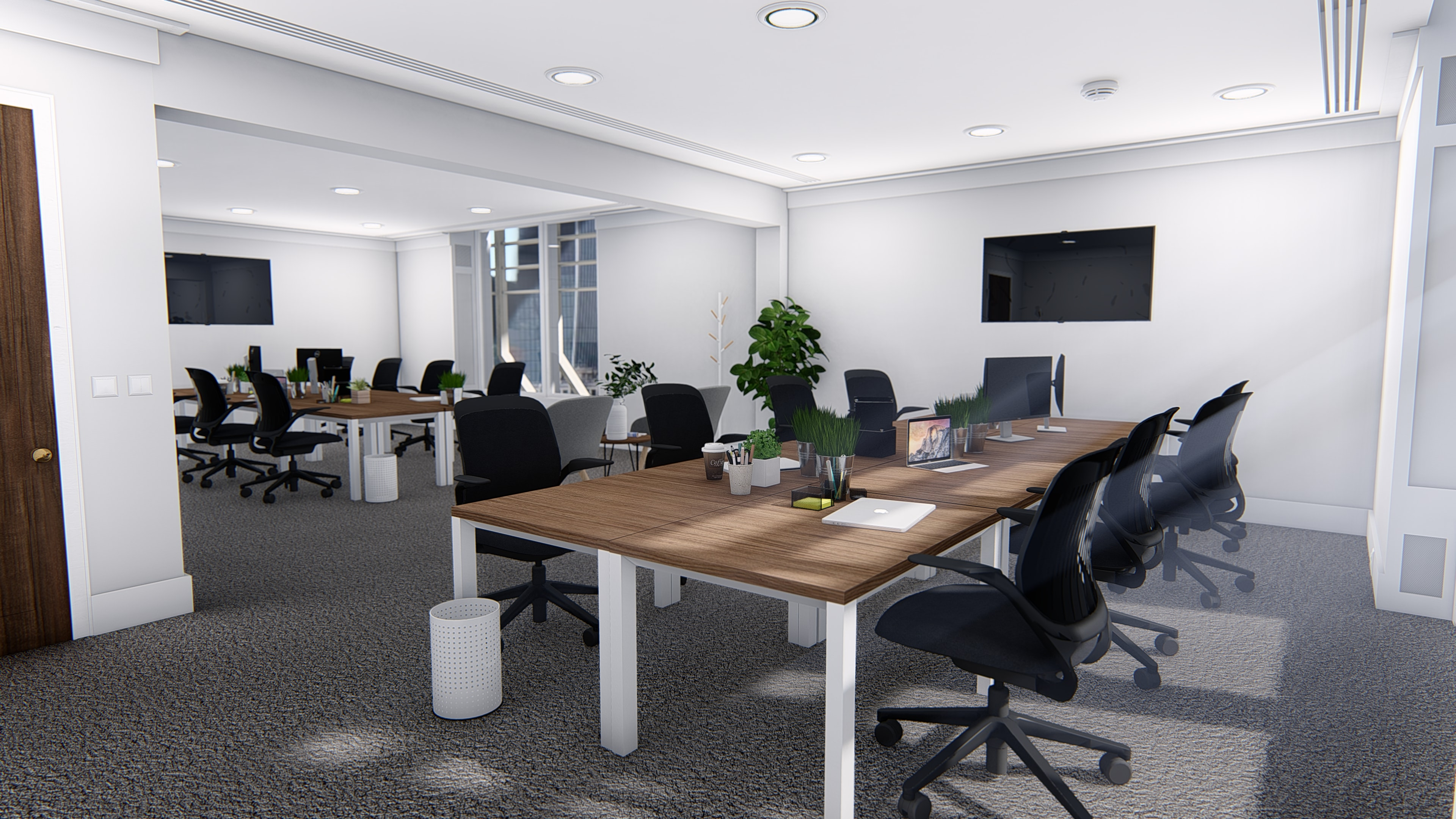 Example of potential office fit out