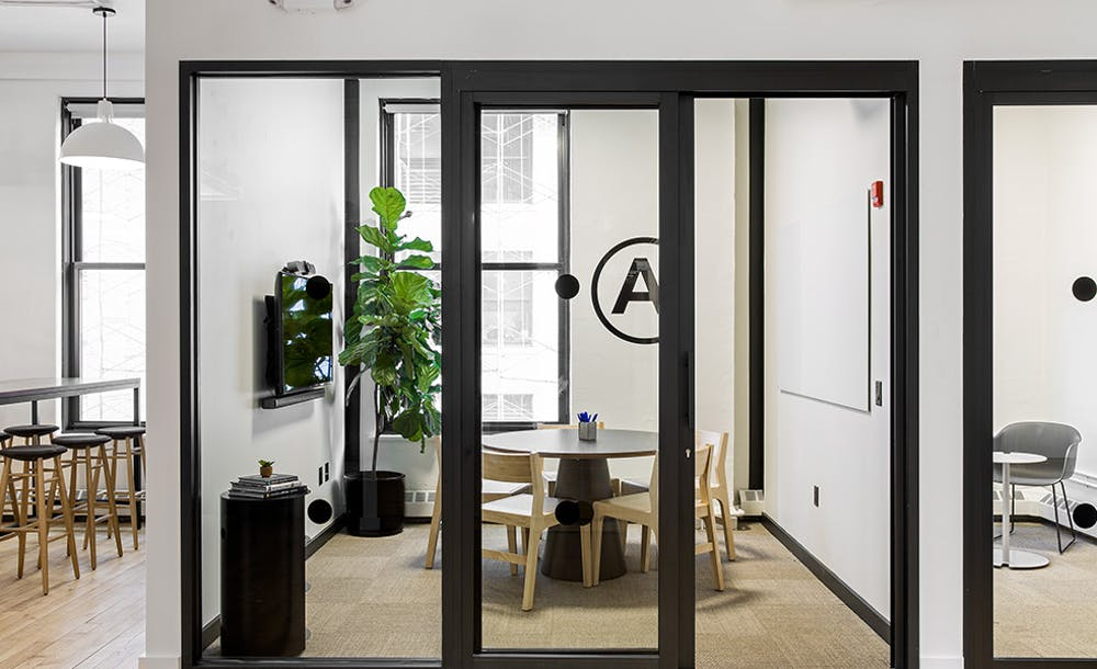 Example of potential office fit out for Headquarters by WeWork