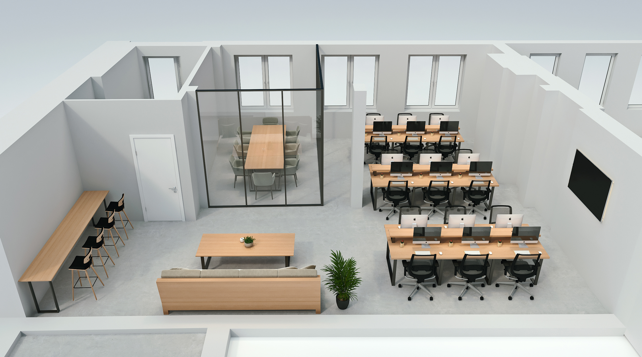 Example of office fit out specification